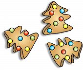 Christmas Tree Cookies poster
