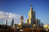 pic of polonia  - Building of Palace of Culture and Science in Warsaw - JPG