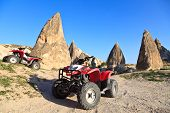 stock photo of four-wheeler  - Quad bikes in Rose Valley - JPG