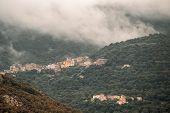 Villages Of Muro And Poggiali In Corsica poster