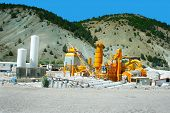 picture of movable  - Movable asphalt mixer plants in Turkey - JPG