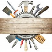 stock photo of sawing  - Carpentry - JPG