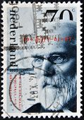 stamp printed in the Netherlands shows J. D. van der Waals