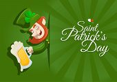 picture of leprechaun  - St - JPG