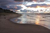 Lake Huron Beach After A Storm