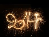 image of happy new year 2014  - Happy New Year  - JPG