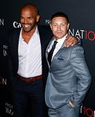 NEW YORK- OCT 24: Actors Amaury Nolasco and Lane Garrison (R) attend Canon's 'Project Imaginat10n' F