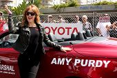 LOS ANGELES - APR 12:  Amy Purdy at the Long Beach Grand Prix Pro/Celeb Race Day at the Long Beach G