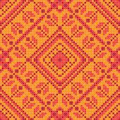Cross stitch ornament seamless background