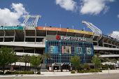 JACKSONVILLE, FL - APRIL 13, 2014: EverBank Field in Jacksonville. EverBank Field is an American Foo