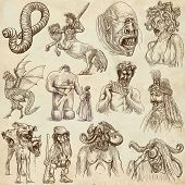 picture of ogre  - Myths and Legendary Monsters around the World  - JPG