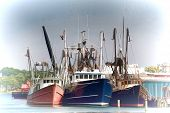 stock photo of lobster boat  - Gloucester Trio  - JPG