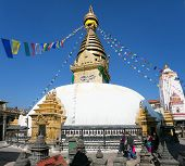 stock photo of dharma  - NEPAL KATHMANDU  - JPG