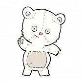 cute polar bear teddy cartoon