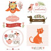 welcome home decor elements
