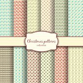 foto of dainty  - Assortment of Traditional Christmas Patterns with Label - JPG