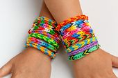picture of rubber band  - A kid - JPG