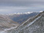 picture of karakoram  - Karakoram range viewed from Khardung - JPG