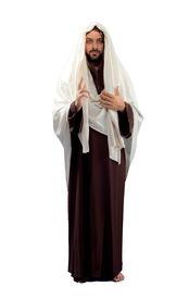 stock photo of verbs  - Jesus Christ full length on white background - JPG