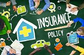 pic of policy  - Diversity Casual People Insurance Policy Meeting Concept - JPG