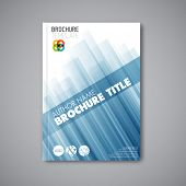pic of brochure  - Modern Vector abstract brochure  - JPG