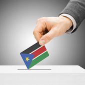 stock photo of sudan  - Voting concept  - JPG