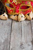 picture of purim  - Hamantaschen cookies or Haman - JPG