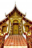 foto of debonair  - The temple Rajamonteam Chiangmai province, Thailand for decorate project. ** Note: Soft Focus at 100%, best at smaller sizes - JPG