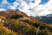 foto of andes  - Autumn in Patagonia - JPG