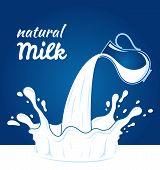 stock photo of milk products  - Milk - JPG