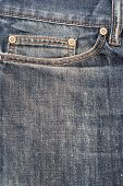 image of denim jeans  - Photo of jeans pocket denim blue background - JPG