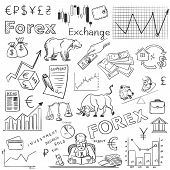 picture of nyse  - finance forex hand drawing - JPG