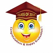 picture of emoticons  - Graduation emoticon for Class 2015 - JPG