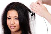 image of hair curlers  - Hairstyling - JPG