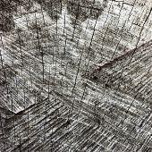stock photo of cutting trees  - Natural Weathered Grey Tree Stump Cut Texture Large Detailed Old Aged Gray Lumber Background Horizontal Macro Closeup Dark Black Textured Cracked Pattern - JPG