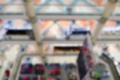 picture of department store  - blurry defocused image of department store or shopping mall - JPG