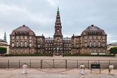 Christiansborg Palace In Copenhagen poster