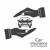 Insurance Agent Protects Car poster