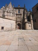 picture of ceres  - Facade of the old Cathedral facade in Plasencia - JPG