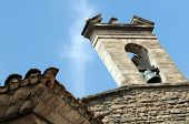 Bell Tower In Gordes