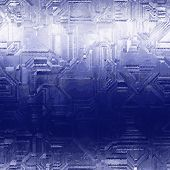 Ombre Techno Sparkle Tech Frost Micro Cold Pattern poster