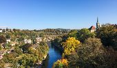 Beautiful Landscape Of Bern, Switzerland. Bern Is Capital Of Switzerland And Fourth Most Populous Ci poster