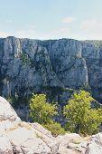 Vikos Gorge View From Oxia Epirus Greece poster