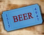 Постер, плакат: Пиво