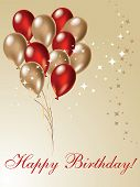 stock photo of happy birthday  - Nice picture for your birthday design decoration - JPG