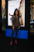 LOS ANGELES - APR 9:  Laila Ali arrives at the