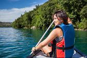 stock photo of paddling  - Pretty - JPG