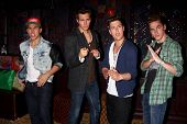 LOS ANGELES - APR 1:  Carlos Roberto Pena Jr., James Maslow, Logan Henderson, Kendall Schmidt of Big