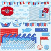 picture of brig  - Scrapbook Design Elements  - JPG