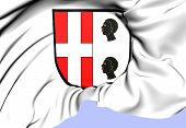Seitingen Coat Of Arms, Germany.